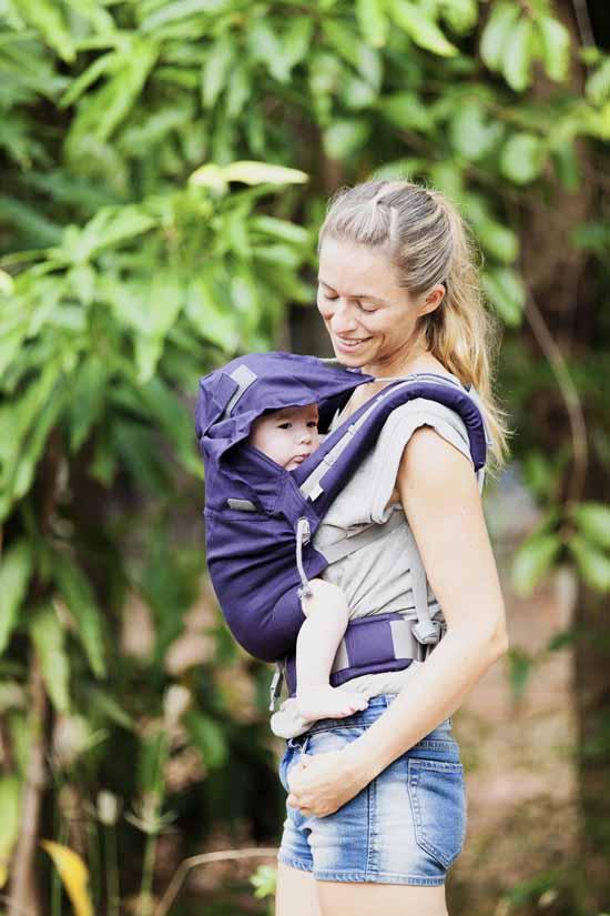 porter bébé quand il fait chaud en P4