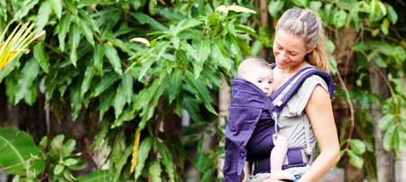 préformé porte-bébé P4 baby size Ling Ling d'amour