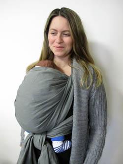 porter bébé hiver porte-bébé
