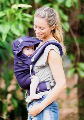newborn carrier P4 baby size LLA hood