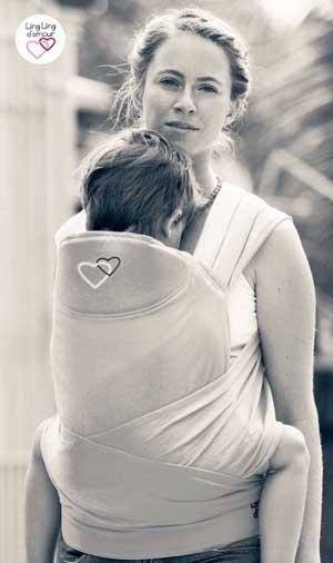 porte enfant 3 ans physiologique maxitai Ling Ling d'amour Dune