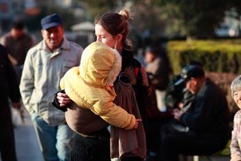 porter enfant 3 ans hiver porte-bébé