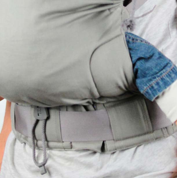 préformé porte bébé physiologique p4 réglage assise et rembourrage