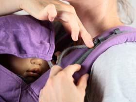 capuche préformé porte-bébé P4 Ling Ling d'amour