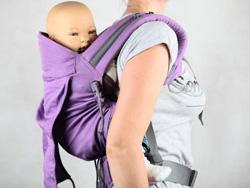 preforme P4 LLA porter bebe sur le dos