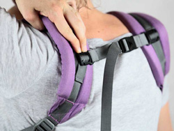 back strap full buckle carrier P4 Ling Ling d'amour