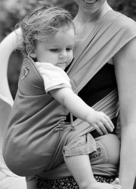 porte-bébé asiatique meitai appui-tête du Mid-Tai Ling Ling d'amour en position haute