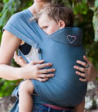 porte-bébé meitai physiologique évolutif Mid-Tai LLA en renforçant l'assise