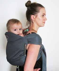 porte bébé meitai physiologique évolutif Bras à l'intérieur du Mid-Tai