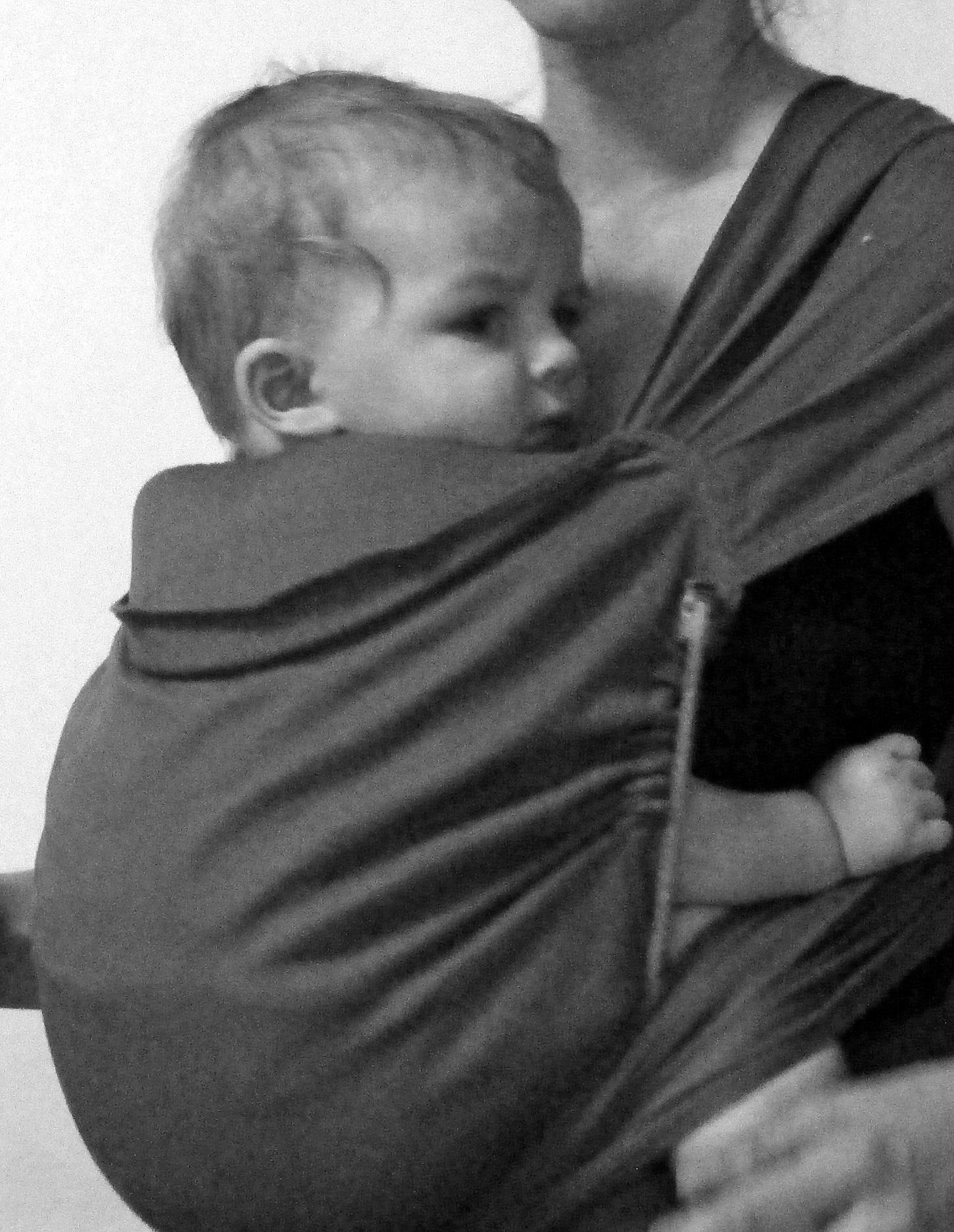 Un appui-tête modulable du Mid-Tai ici avec un petit bébé