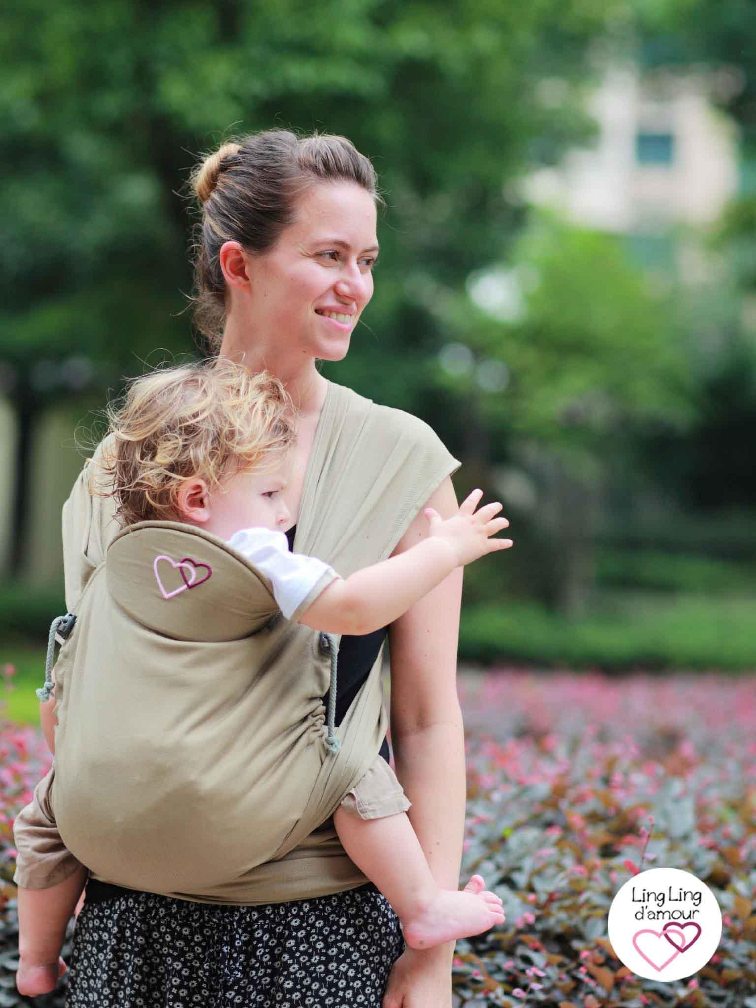 porte bébé meitai Mid-Tai Ling Ling d'amour