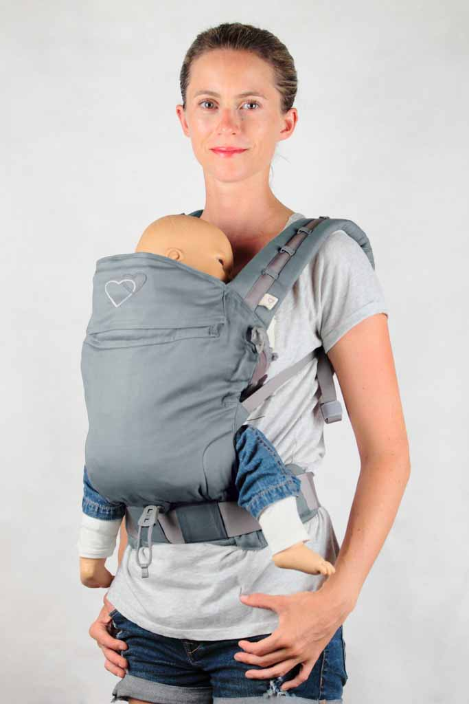 préformé porte-bébé P4 baby size LLA Eucalyptus