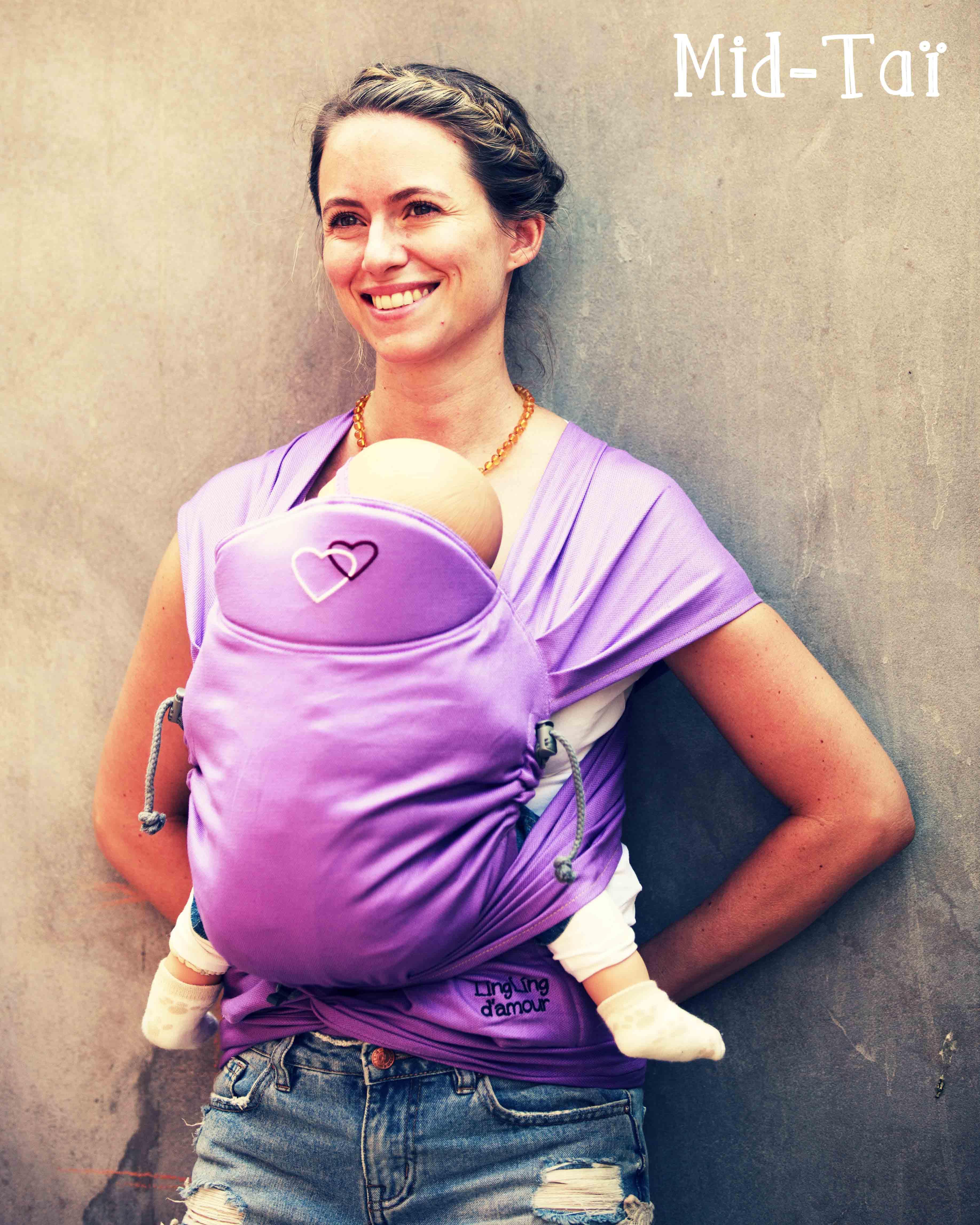 Mid-Taï porte-bébé physiologique meitai LLA