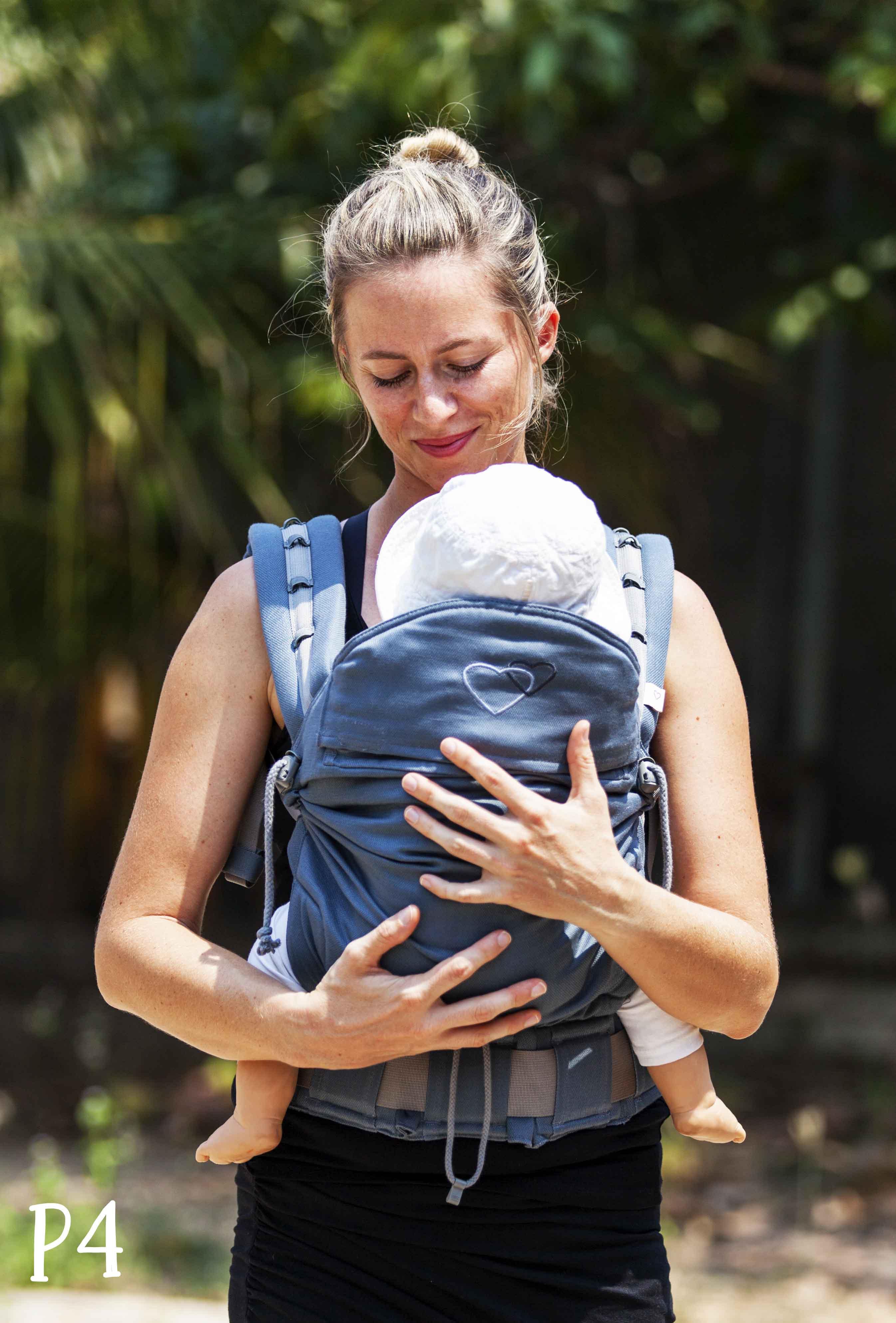5a230d570045 Avis P4 porte-bébé préformé baby size, standard et preschool - Ling ...