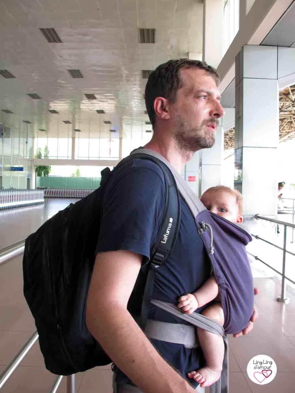 mtai porte bébé hybride physiologique papa porteur LLA